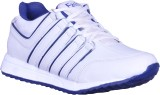 Fashy Running Shoes (White, Blue)