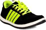 Sam Stefy Walking Shoes (Black, Green)