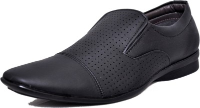 West Code Men's Synthetic Leather Casual Shoes D-72-Black-6 Casuals