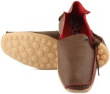 Anupamaa Side Laces Brown Loafers (Brown...