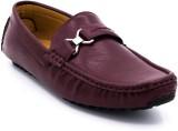 Belle Gambe Elegant Loafers (Maroon)