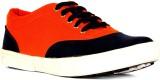 Pryann Canvas Shoes (Orange)