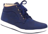 Vogue Guys Blue Ankle Sneakers