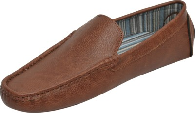 HD Tan Synthetic Loafers