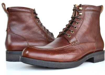 Language Leather Boots