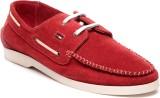 Pelle Originale Boat Shoes (Red)