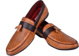 Road Spit Loafers (Tan)