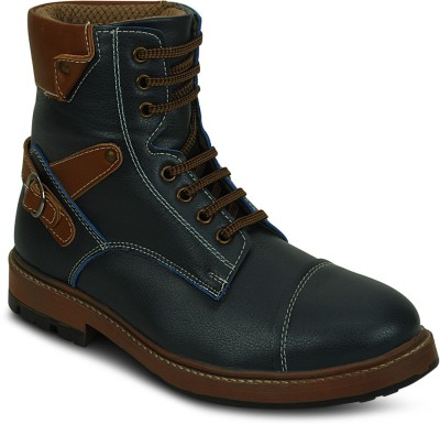 Get Glamr Trecking Lace Ups Boots