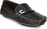 Wave Walk Latest Fashion Loafers (Black)