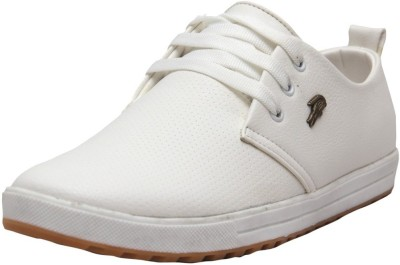 West Code Men's Synthetic Leather Formal Shoes 813-White-6 Casuals