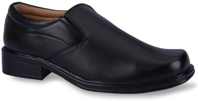 Force Hill 10000 Black Slip On Shoes