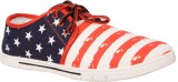Cox Swain Canvas Shoes (Red, White)