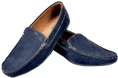 Fashion Zone Blue Loafers