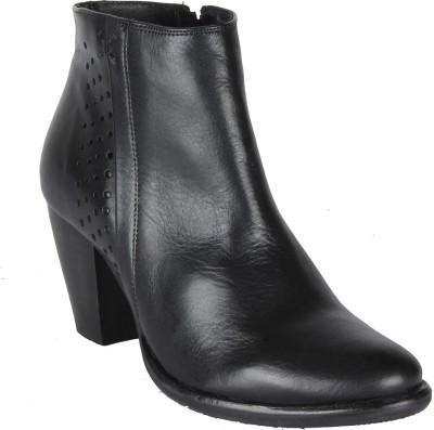 Salt N Pepper 14-038 Marsha Black Boots Boots(Black)