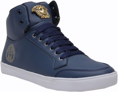 West Code West Code Men's Synthetic Leather Casual Shoes 7091-Blue-7 Casuals