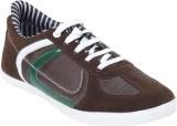Yuuki Arrow Casual Shoes (Brown)