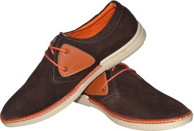 Human Steps Premium Suede Leather Sneakers