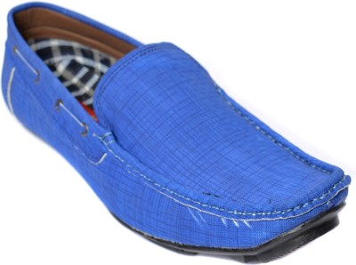 Kamil Blue Loafers