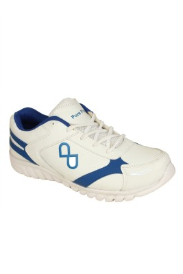 Pure Play PPGSS011-White-Blue Walking Shoes