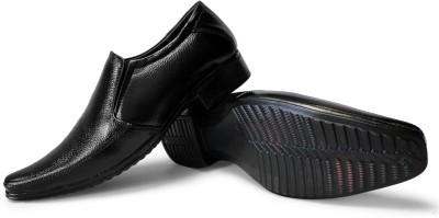 Rock Land Best Geniune Leather Slip On Shoes