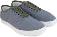Reebok CLASSIC TENSTALL Men Canvas Sneakers(Green, Grey, White)