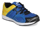Bostan Running Shoes (Blue, Yellow)
