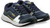 Density Running Shoes (Blue, Yellow)
