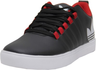 Black Tiger Black Tiger Men's Synthetic Leather Casual Shoes 8061-Black-6 Casuals
