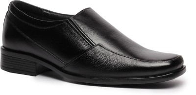 Feather Leather Genuine Leather Black Formal Shoes 039 Slip On Shoes