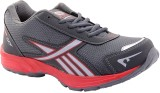 Porcupine Laced Running Shoes (Grey, Red...