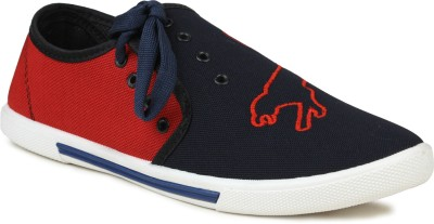 Gasser Tigerblkred Canvas Shoes