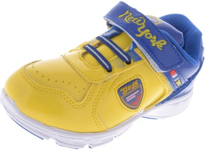 Guys & Dolls Newyork Royal Blue and Yellow Casual Shoes