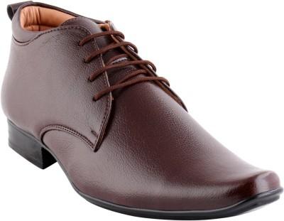 Smart wood 2002 BRN Lace Up Shoes