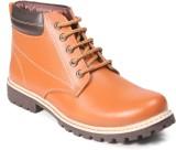 Ferraiolo Shoes Boots (Tan, Black)