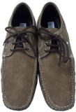 SNG Le-Valde Boat Shoes (Brown)