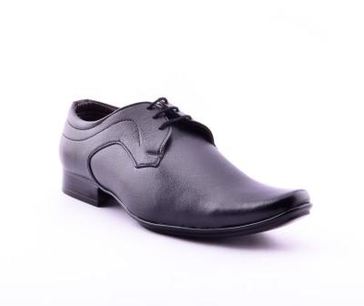 Calaso 2503(FR)Blk Lace Up Shoes