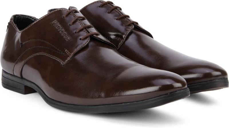 Provogue Lace Up ShoesBrown SHOEHVFUBA6C4F5X