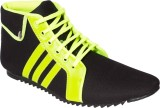 Gito Sneakers (Black, Green)