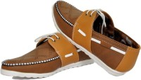 Kacey Sneakers Casuals(Brown)