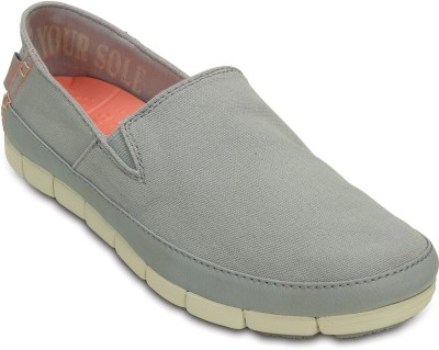 Crocs Loafers(Grey) at flipkart