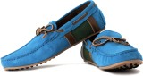 Famozi Loafers (Blue, Green, Tan)
