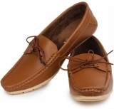 Demyra Boat Shoes (Brown)