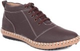 Haroads Ankle Half Length Boots (Brown)