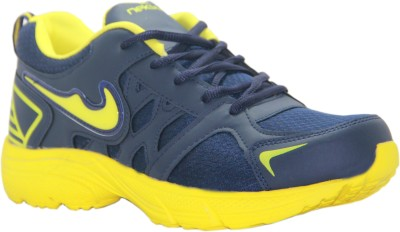 Stepin Soles Neon-4 Blue/Yellow Running Shoes