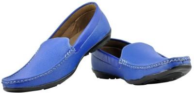 Alpha Man Blue Loafers