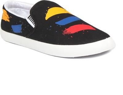 NAVCHETAN Brush.Black Loafers