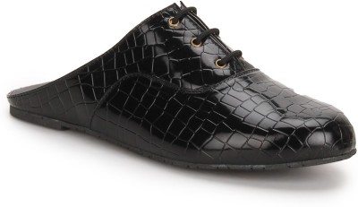 Chalk Studio Chalk Studio Patent Croco Black Casual Shoes Casuals