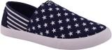 Advin England Blue Star Canvas Shoes (Bl...