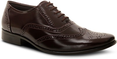 Get Glamr Brogue Lace Up Shoes