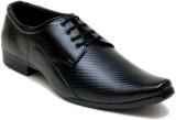 Oora 3D Fine Dots Lace Up Shoes (Black)